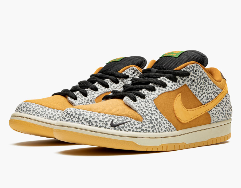 nike sb dunk low safari raffles